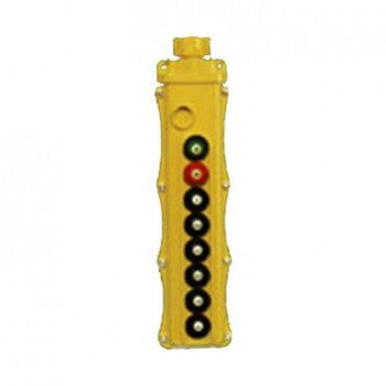 8 Button SBP2 Pushbutton Station - SBP2-8-WS (Two Speed, Standard)