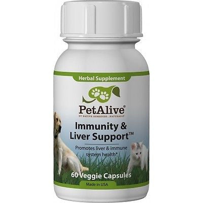 Pet Alive - Immunity and Liver Support (3 Bottles)