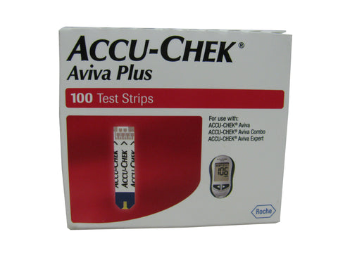 Accu-Chek Aviva Plus Retail 100ct. Box
