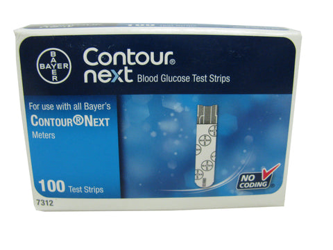 Contour Next Retail 100ct Box