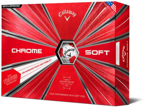 Callaway 2018 Chrome Soft TRUVIS Golf Balls