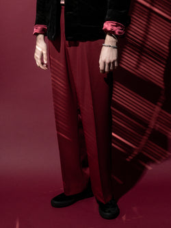 Deuce Classic Trousers / Garnet, , Clothing, Apparel - Drifter Industries