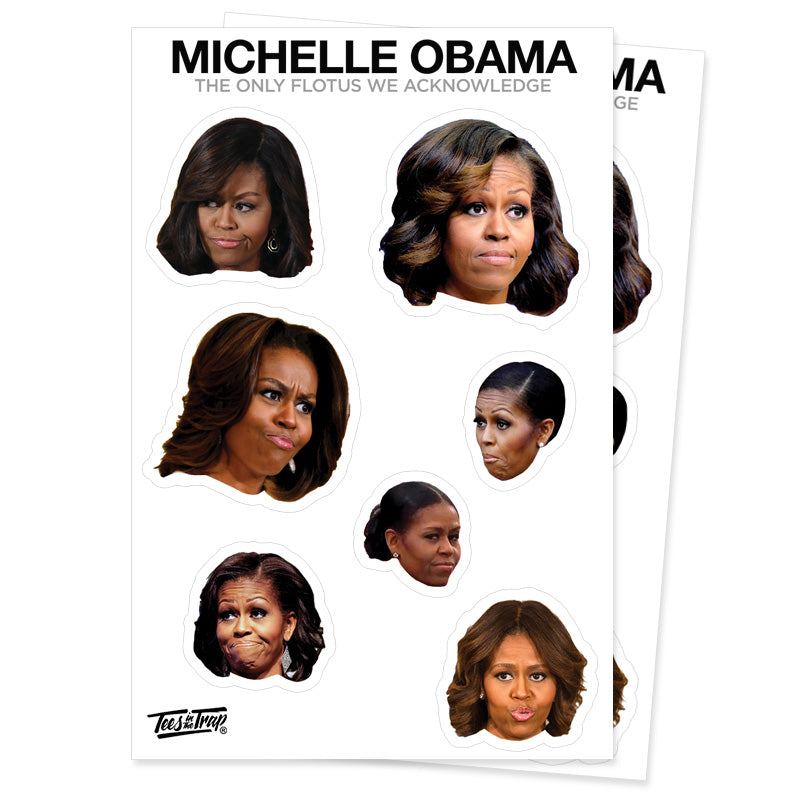 Michelle Obama Stickers