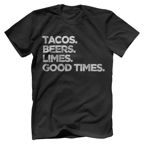 Tacos, Beers, Limes