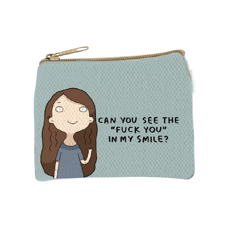 Coin Pouch My Smile