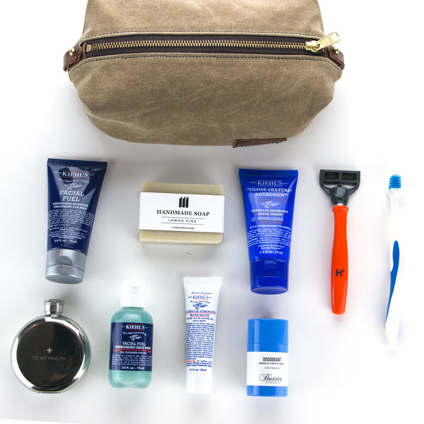 How to Pack a Dopp Kit