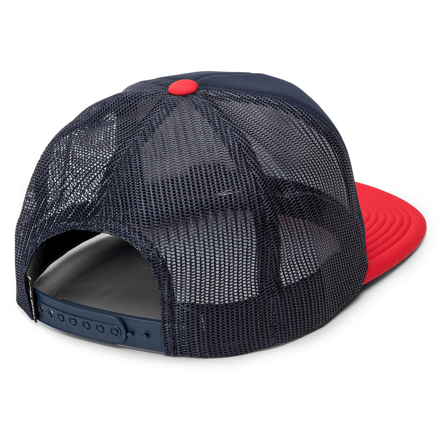 Volcom Mens Full Frontal Cheese Cap - Engine Red-Volcom-Seaside Surf Shop