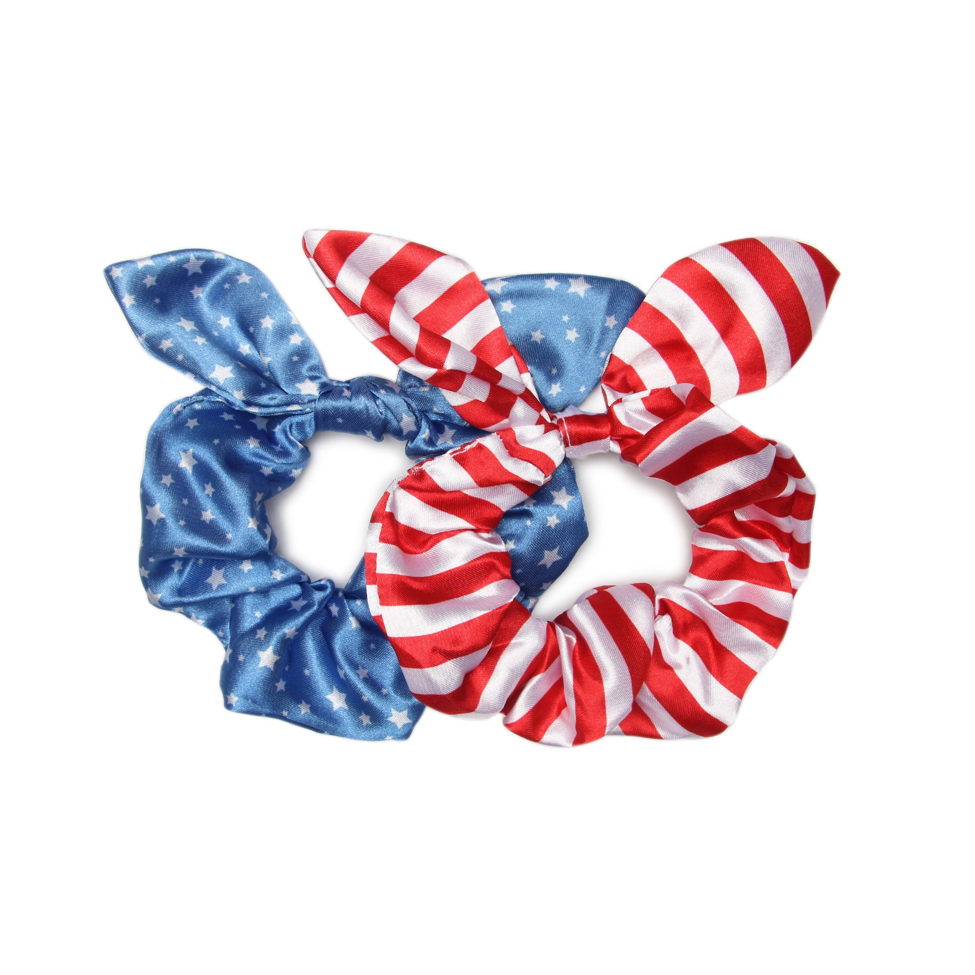 Stars + Stripes - Bow Scrunchies