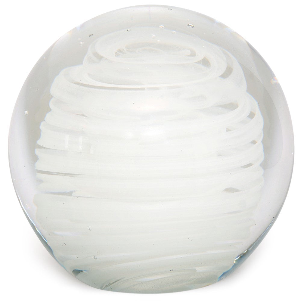 "Large Paperweight- Hurricane Glow- 4"" Height- FREE Shipping to lower 48 on all orders of $35"