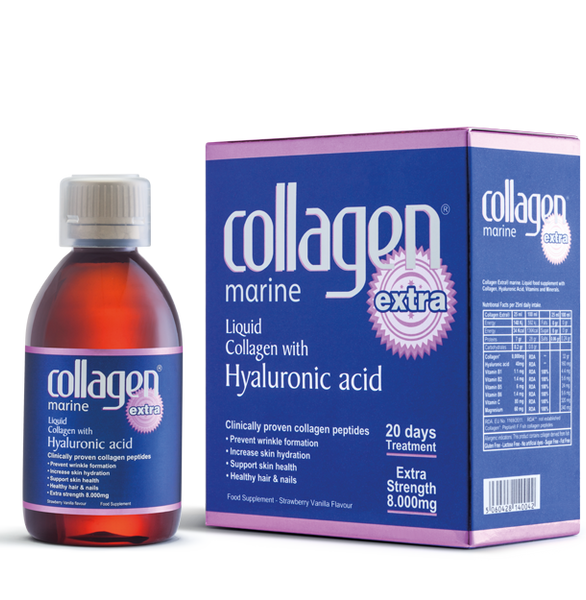 Collagen Extra ® Marine peptan® Box of 500ml 20 Day Food Supplement