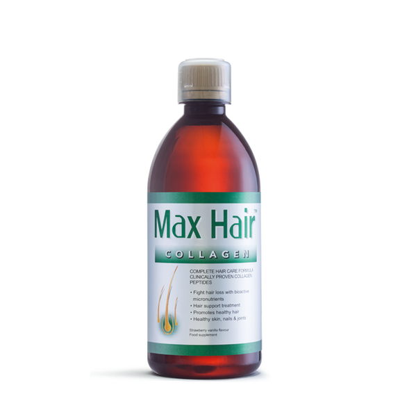Collagen Max Hair Liquid 500ml 20 Day Hair Loss Treatment
