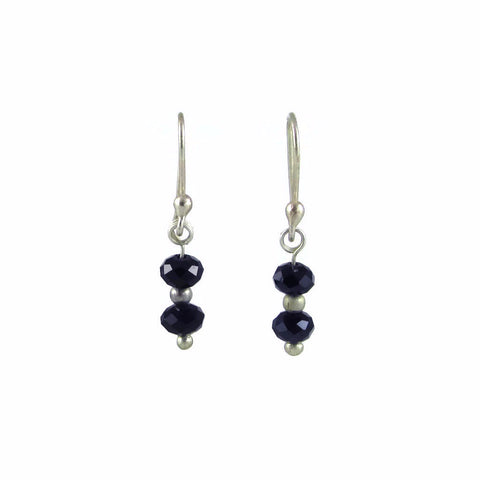 Brillo Earrings - Black