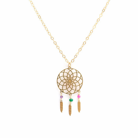 Dream Catcher Mini Necklace