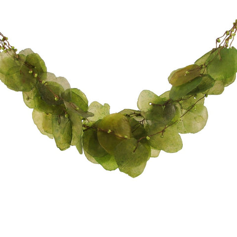 Fish Scales Necklace - Moss