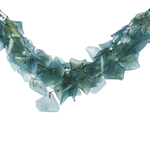 Fish Scales Necklace - Sapphire