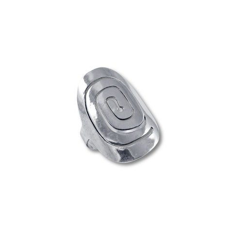 Caracol Silver Ring