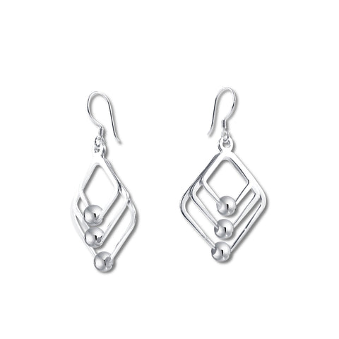 Diamond Windchimes Earrings