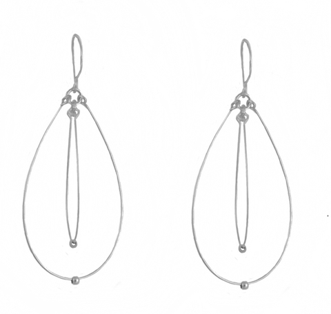 Ovals Light Earrings