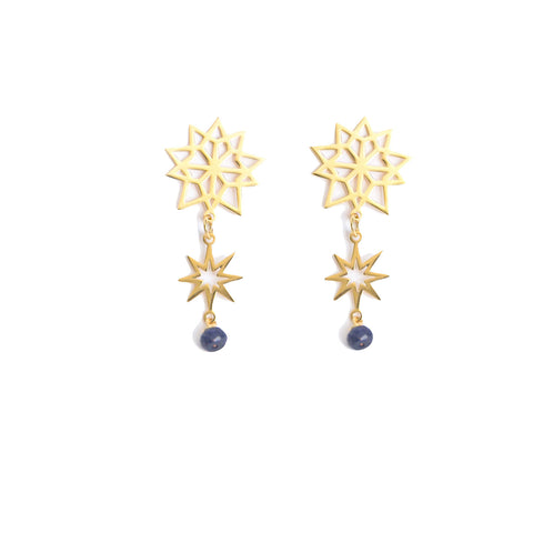 Starburst Statement Earrings
