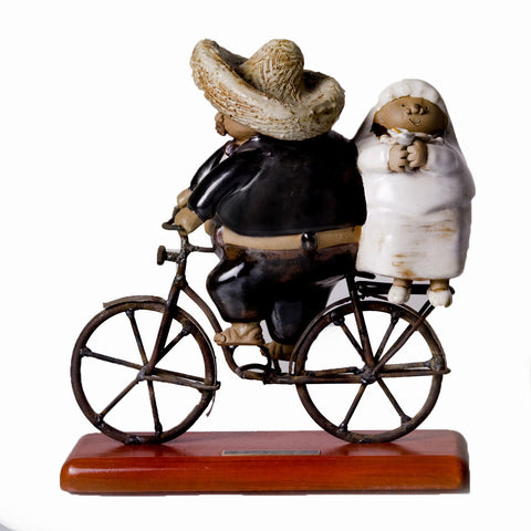 """Newlyweds"" Figurine"