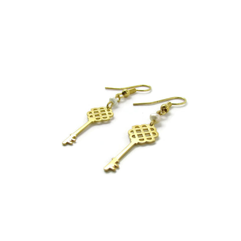 Millie Key Earrings