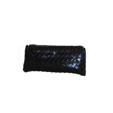 Recycled Candy Wrapper Clutch - Black