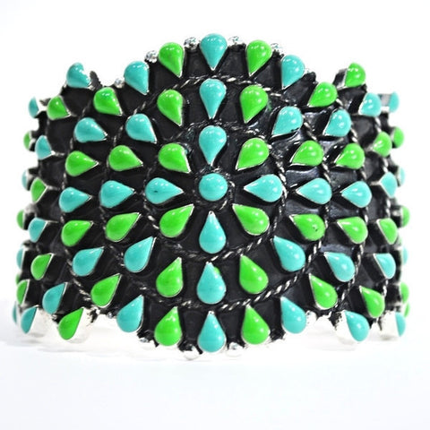 Southwestern Cuff Bracelet - 3 Colors Available