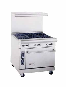American Range AR-6 6 Burner Gas Range - Kentucky Restaurant Supply