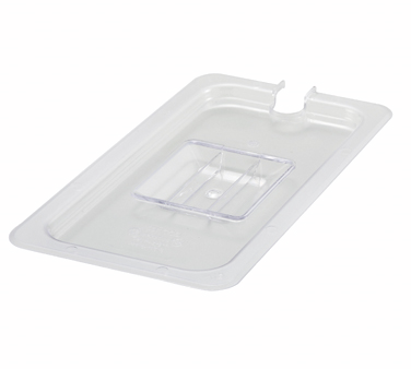 Winco SP7300C Slotted Cover for 1/3 Size Food Pan - Kentucky Restaurant Supply