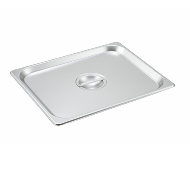 Winco SPSCH, S/S Steam Pan Cover, Half-size, Solid - Kentucky Restaurant Supply