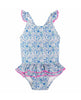 BABY GIRL FRILL SWIMSUIT LIBERTY