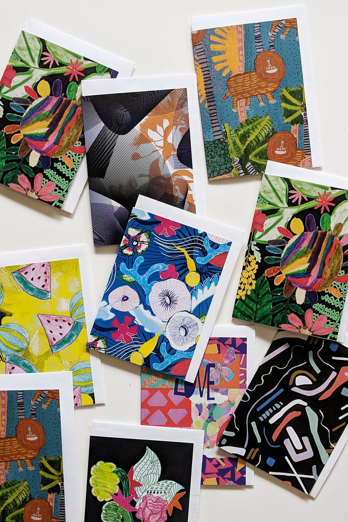Mixed Greeting Card 10 Pack - lucky dip sale price! (usually $30)