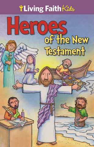 Heroes Of The New Testament Sticker Book