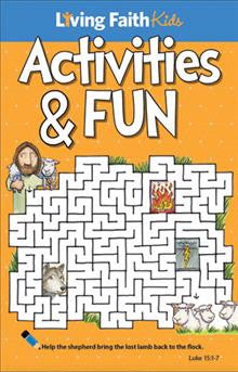 Living Faith Kids Faith-Full Activities From The Bible