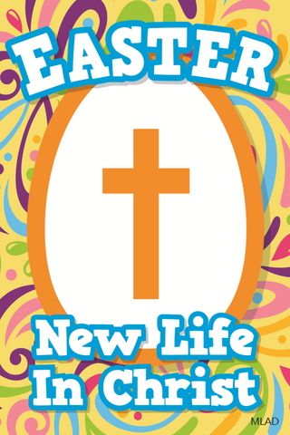Easter Magnet: New Life in Christ