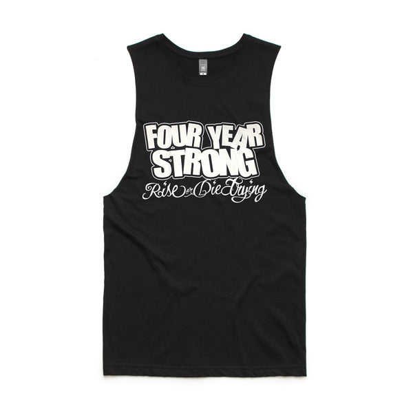 Four Year Strong - Rise or Die Trying Tank (Black)