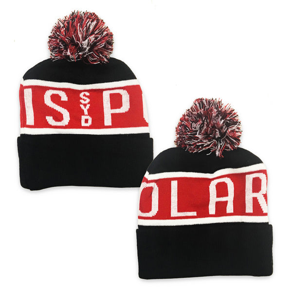 Polaris - Footy Beanie (Red)