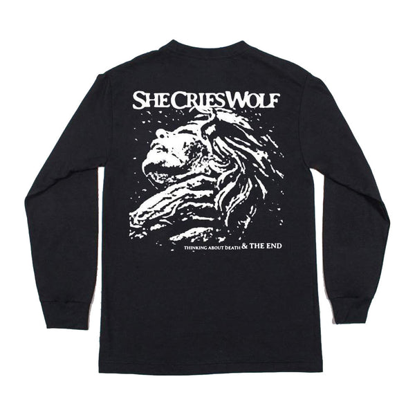 She Cries Wolf - Thinking About Death Long Sleeve Back