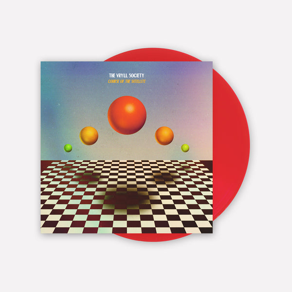 The Vryll Society 'Course Of The Satellite' LP (Transparent Red) + Bonus CD