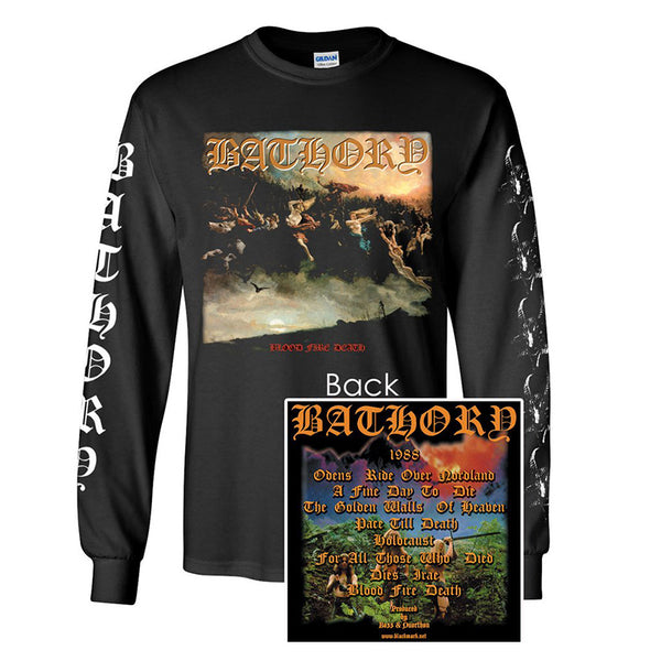Bathory - Blood Fire Death Long Sleeve