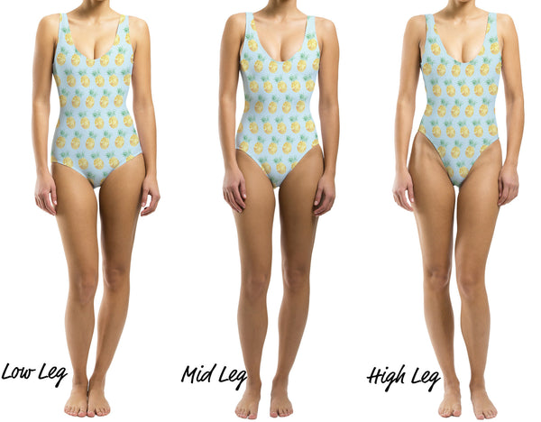 Cool Pineapple One Piece Swimsuit - Houndsditch - 2