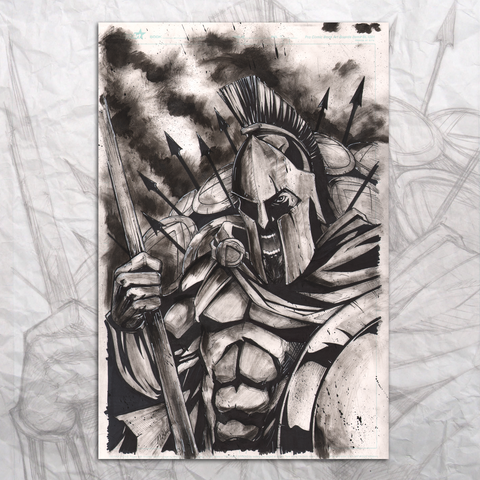 300 Spartan Original Artwork