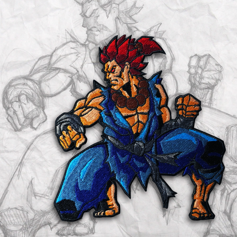 Akuma Embroidery Morale Patch