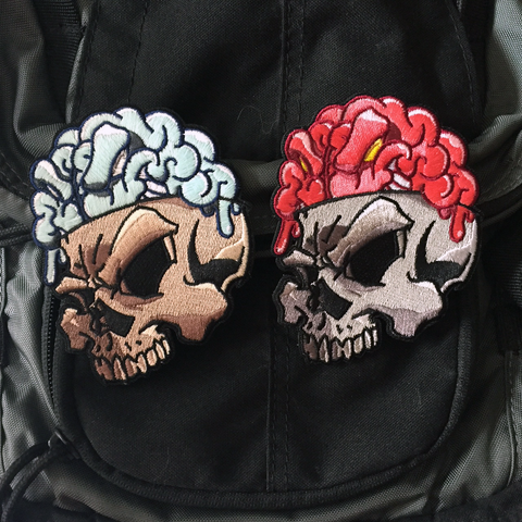 Numbskull GLOW Embroidery Morale Patch