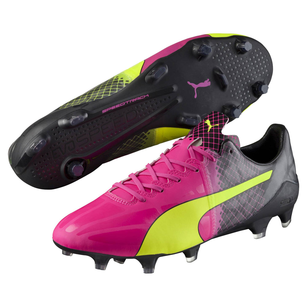Puma evoSpeed 1.5 Tricks FG soccer cleats pair