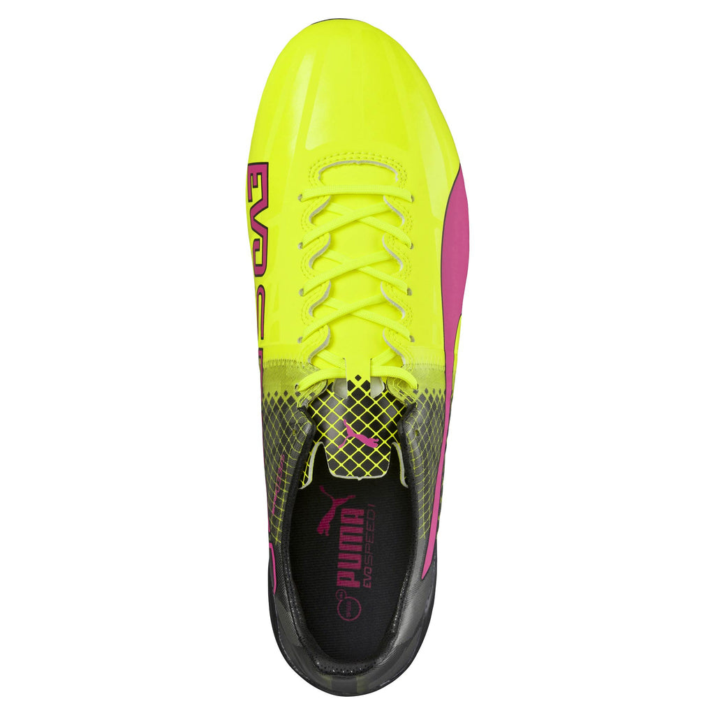 Puma evoSpeed 1.5 Tricks FG soccer cleats uv2