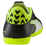 Puma evoTOUCH 3 IT JR indoor soccer shoes black yellow rv