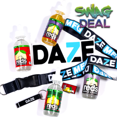 Reds Apple by 7 Daze E-Liquid 4-Pack Swag Deal - buy-ejuice-direct