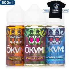Okami x eJuice Direct Collab Swag Deal 3-Pack - buy-ejuice-direct