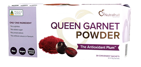 Queen Garnet Powder Sachets